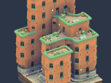 Brick Block by Oskar Stålberg